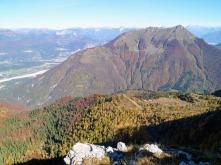 Panorama verso monte Verzegnis