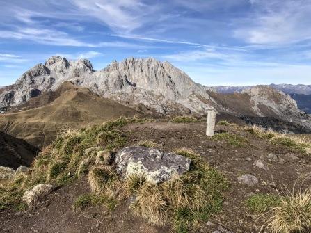 La vetta del Pezzacul a quota 2176m.