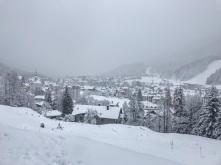 Camporosso sotto la neve