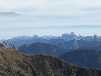 Panorama sulle Giulie.