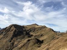 Vista sul Monte Pezzacul.