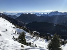Vista sulla Valle di Sauris.
