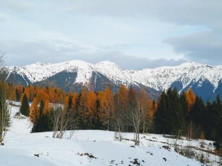 Panorama verso monti Dimon e Neddis