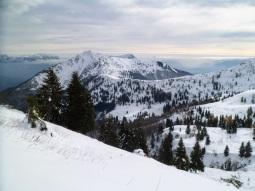 Panorama verso monte Dauda