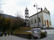 Partenza dalla chiesa di Sottomonte