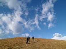 Si sale sul monte Valinis