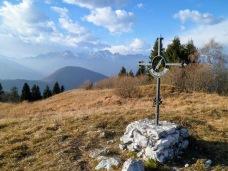 Croce di vetta del monte Valinis