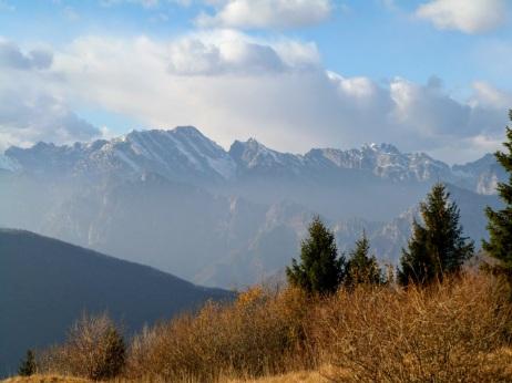 Panorama verso le Caserine Alte