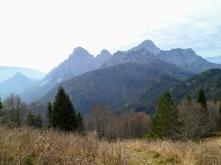 Panorama verso monte Sernio