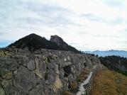 la linea fortificata del monte Cullar