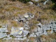 Bivio dopo la galleria per salire al monte Cullar