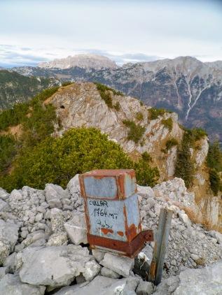 Vetta del monte Cullar