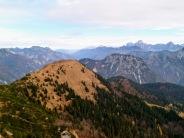 Panorama verso Palon di Lius