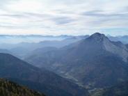 Monte Tersadia a destra