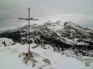Croce di vetta del Col Cornier