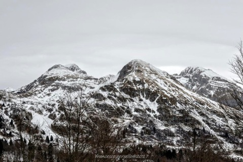 Panorama verso Monte Tremol