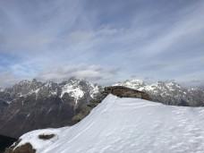 Panorama verso le Dolomiti Pesarine