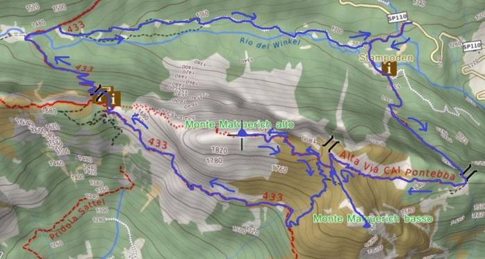 mappa malvuerich