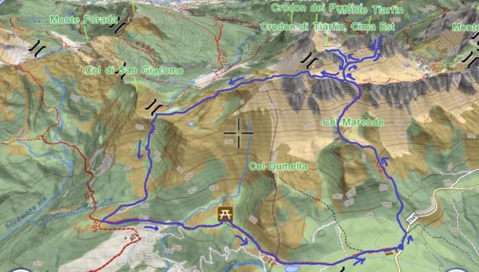 mappa tiarfin