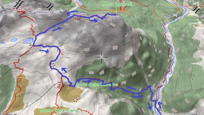 mappa lastroni