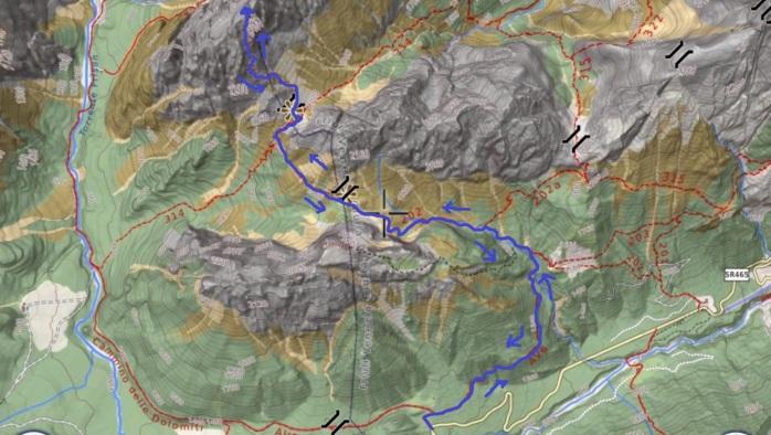 mappa terza grande