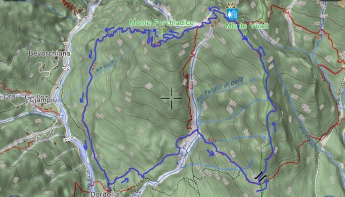 mappa VUALT