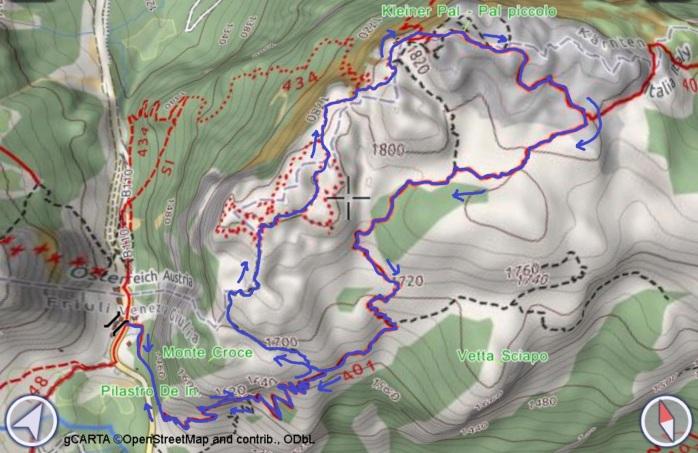 mappa PAL PICCOLO