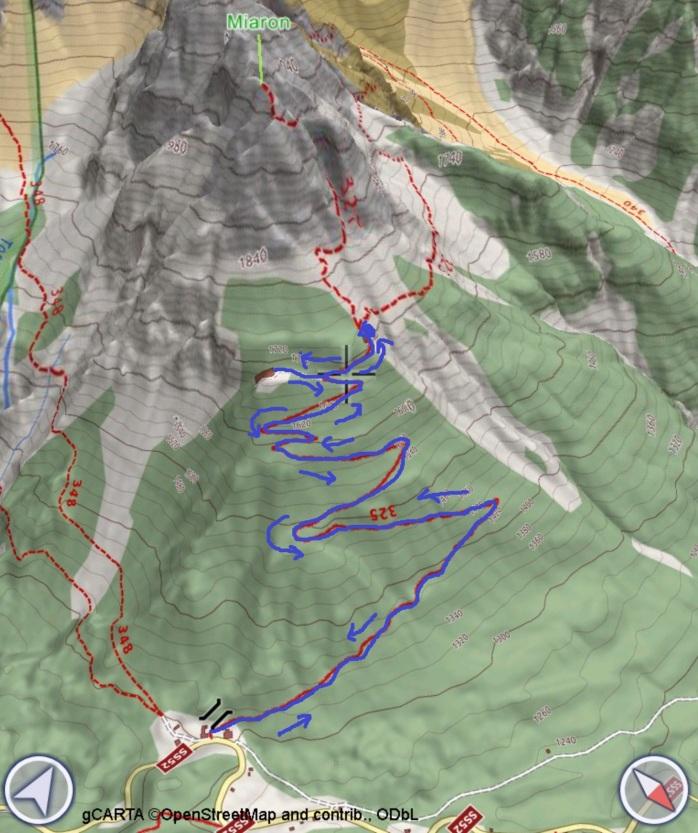 mappa MIARON