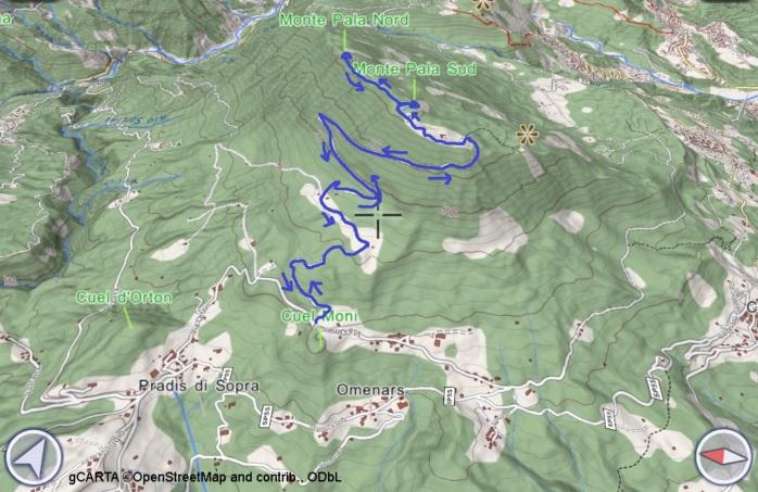 mappa PALA
