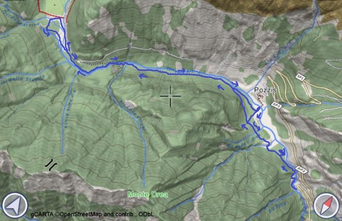 mappa ARZINO