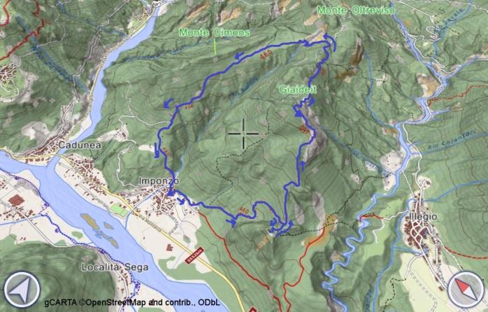 mappa Giaideit