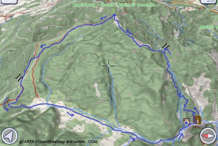 mappa Kapinberg