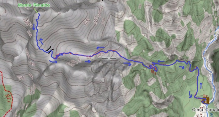 mappa RINALDO