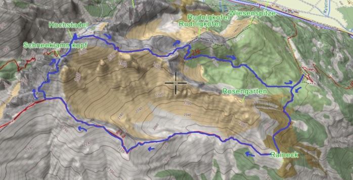 mappa Hochstadel