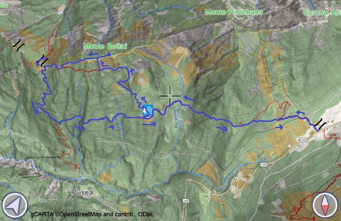 mappa BOTTAI