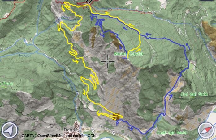 mappa COVRIA