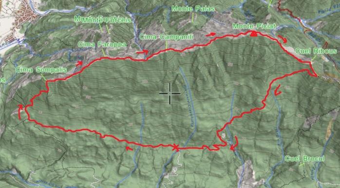 mappa PICIAT