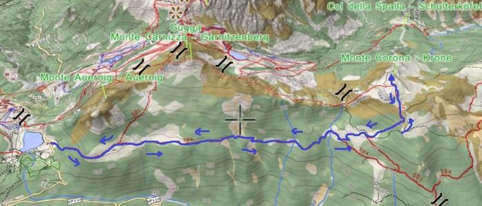mappa CORONA