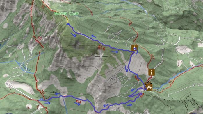 mappa CUAR