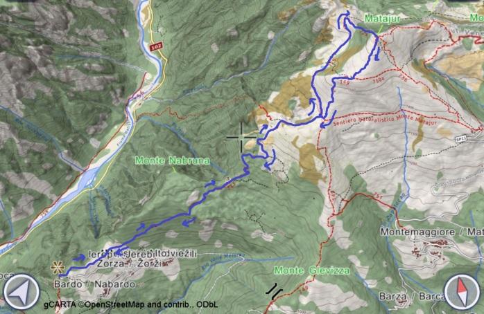 mappa MATAJUR