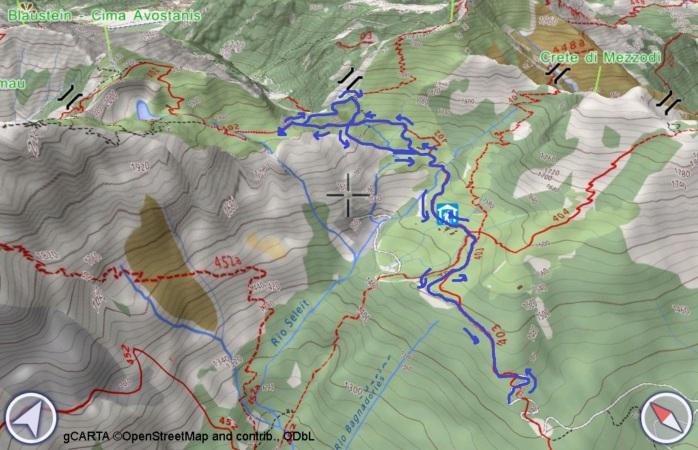 mappa PRAMOSIO