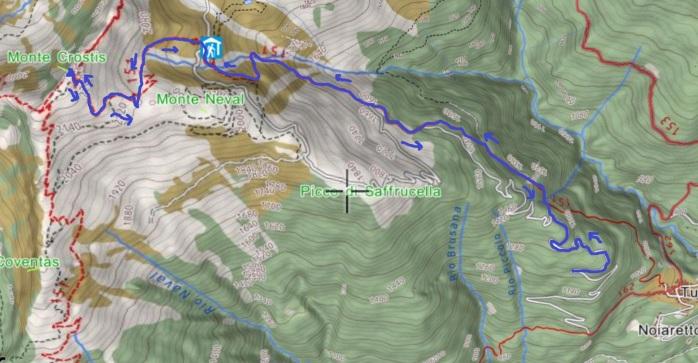 mappa CROSTIS