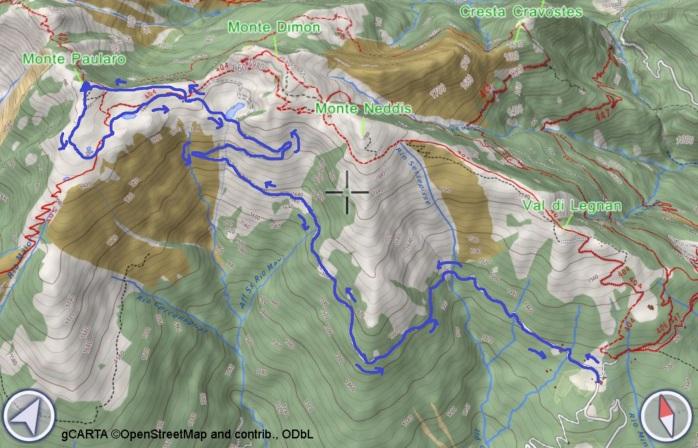 mappa PAULARO