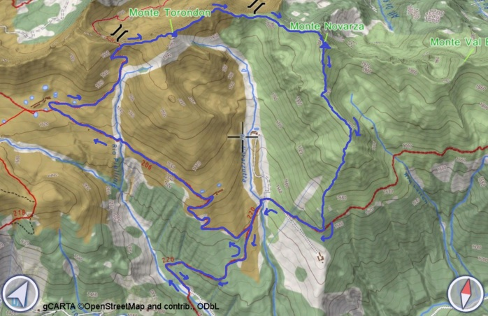 mappa NOV E TOR