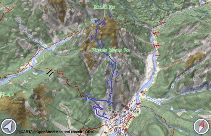 mappa RE