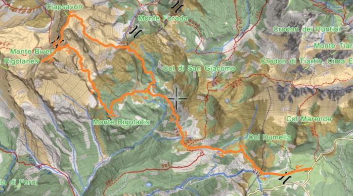 mappa CLAPSAVON
